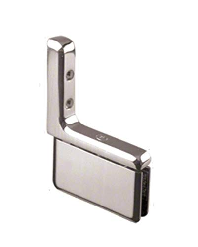 CRL PPH03CH Polished Chrome Prima 03 Series Wall Mount Hinge