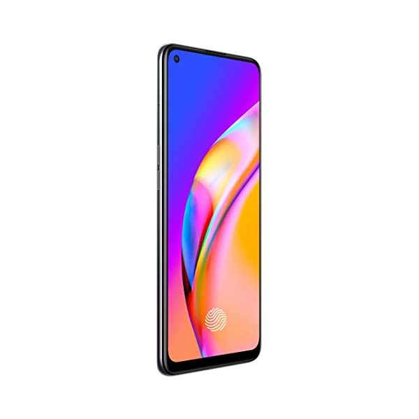 """OPPO F19 Pro+ 5G (Fluid Black, 8GB RAM, 128GB Storage) with No Cost EMI/Additional Exchange Offers 2021 August 6.43"""" inch (16.3cm) fhd+ super amoled punch-hole display with 2400x1080 pixels. larger screen to body ratio of 90.8%., in-display fingerprint 3.0. mediatek dimensity 800u 5g supports dual 5g or 4g sim., powerful 2.4 ghz octa-core processor, support lpddr4x memory and latest ufs 2.1 storage 4310 mah lithium polymer battery with 50w flash charging technology."""