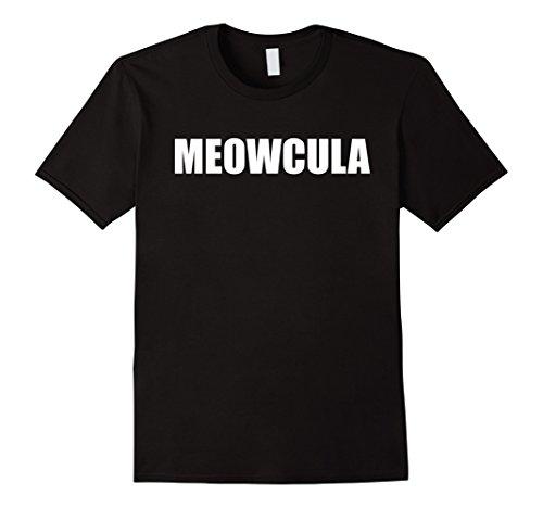 Mens Meowcula Shirt Cat Halloween Costume Medium (Diy Cat Costume For Men)