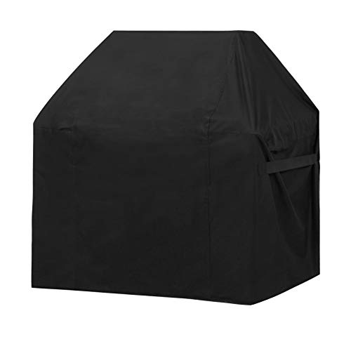 ABO Gear Grill Cover, 58 Inch Heavy Duty Gas Barbeque Grill Cover BBQ Grill Covers – Black Color