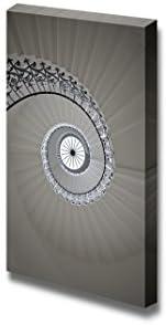 Spiral Staircase Visual Art Wall Decor