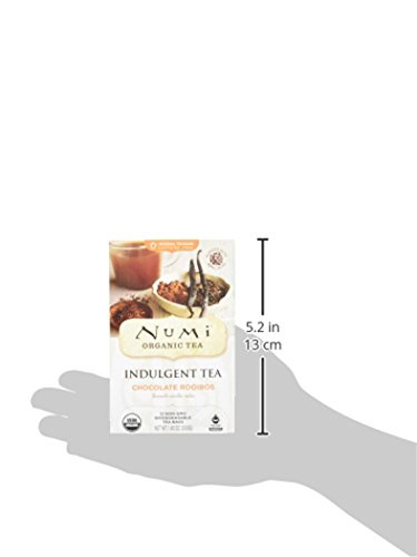 Numi Teas Chocolate Rooibos Tea Bag, 12 Count