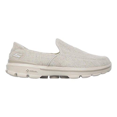Skechers Rendimiento Go Walk 3 - Interruptor de zapatos Caminar Khaki