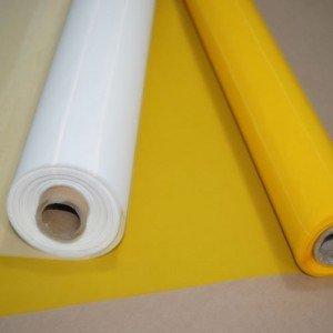 355 tpi Monofilament Yellow Silk Screen Printing Mesh - 3 Yards x 63'' Width MSJ Screens