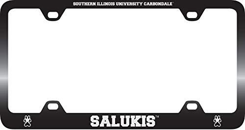 Southern Illinois University -Metal License Plate Frame-Black