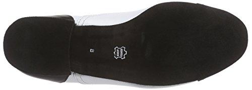 Diamant 077-025-027 - Zapatos de baile Hombre Mehrfarbig (Negro/Blanco)