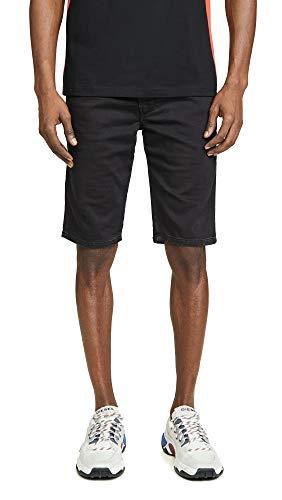 Diesel Men's Kroo Shorts, Black Denim, 36