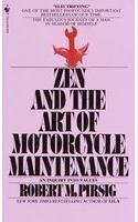 Book cover for Zen and the Art of Motorcycle Maintenance