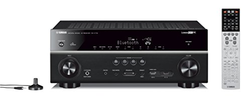 Yamaha RX-V779 7.2-Kanal AV-Receiver (160 W, 4 Ohm, 4K Video Upscaling, AirPlay, WLAN, Bluetooth) schwarz