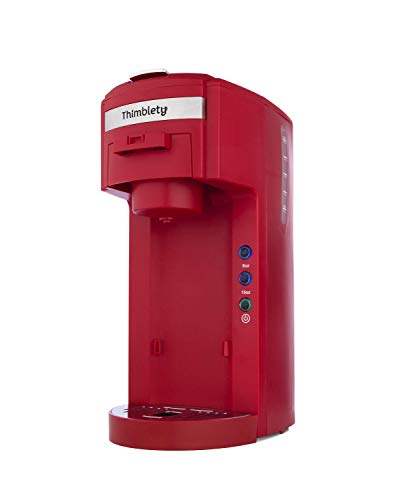 Thimblety Single Serve Tea and Coffee Brewer (Red)