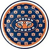 Pack of 96 NCAA Auburn Tigers Round Tailgate Party Paper Plates 7''