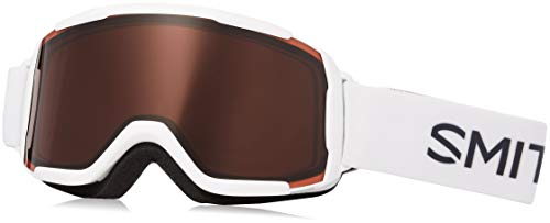 Smith Optics Daredevil Youth Junior Series Ski Snowmobile Goggles Eyewear - White / RC36 / Medium -