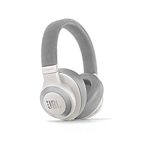JBL E65BTNC by Harman Wireless Over-Ear Active Noise Cancelling Headphones (White)
