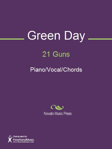 21 Guns Sheet Music (Piano/Vocal/Chords) - Kindle edition by Billie ...