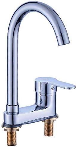 ShiSyan 立体水栓 万能水栓 洗面化粧台のシンクの蛇口真鍮温水と冷水の浴室の洗面台のシンクタップ浴室の蛇口 混合水栓