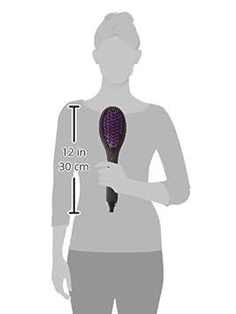 Dafni cepillo de pelo alisado de Peine Plancha de pelo, color negro: Amazon.es: Salud y cuidado personal