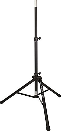 Ultimate Support TS-80B Original Series Aluminum Tripod Speaker Stand with Integrated Speaker Adapter by Ultimate Support