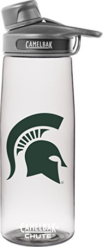 NCAA Michigan State Spartans Chute Collegiate, 0.75 L, Clear - Michigan State University Seal