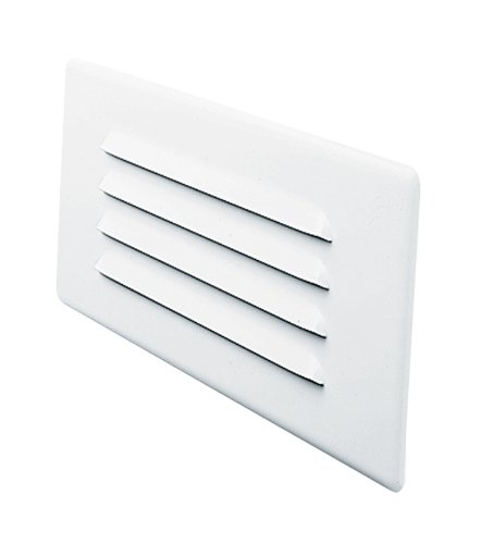 Juno Lighting Group 840-WH Indoor Step Light Louver Trim, White Finish