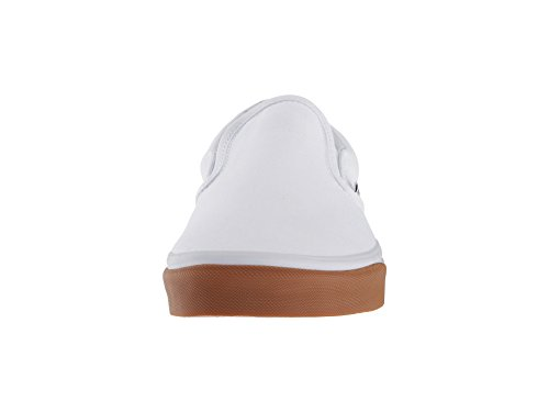 Classic Bumper Vans Canvas Slip Adults' Gum on True White True White Trainers Unisex 1TTqEwxR