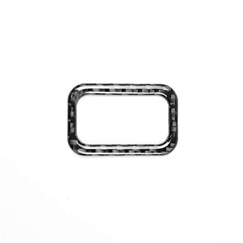 Schwarz XZANTE Auto Styling Kohle Faser Kofferraum Schalter Control Knopf Trim Rahmen Aufkleber F/ür Mercedes C Klasse W205 GLC Zubeh?r