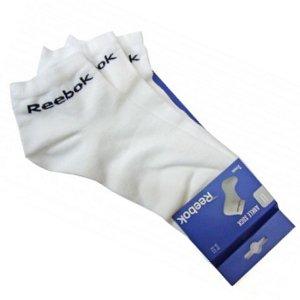 Reebok 3 PK Ankle - Calcetines de productos de entrenamiento para hombre, talla m1, color blanco: Amazon.es: Zapatos y complementos