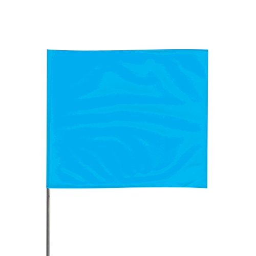 Presco 2321BG PresGlo Marking Flags, Blue Glo, 1,000/Case