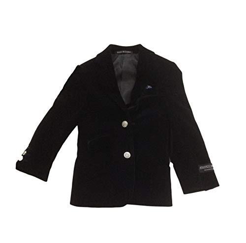 BABY JETT SETTERS - Armando Martillo Toddler Boys Fine European Blazer Sports Jacket (Black Velvet, 4T)