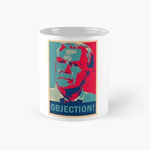 Ben Matlock OBJECTION! Mug, matlock Cup, 11 Ounce Ceramic Mug, Perfect Novelty Gift Mug, Funny Gift Mugs, Funny Coffee Mug 11oz, Tea Cups 11oz -
