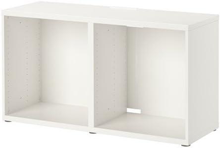Ikea BESTA - Mueble para TV (120 x 40 x 64 cm), color blanco: Amazon.es: Hogar