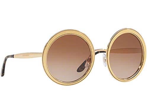 - Dolce & Gabbana DG2179 Sunglasses Gold w/Brown Gradient Lens 54mm 0213 DG 2179