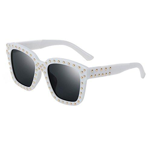 C5 Nuevas Libre UV Fashion Unisex Retro Redondas Gafas Para Cool Y 400 De De Para Trend Conducción Aire De Decoración Uñas Gafas Sol Protección BTPfpWg