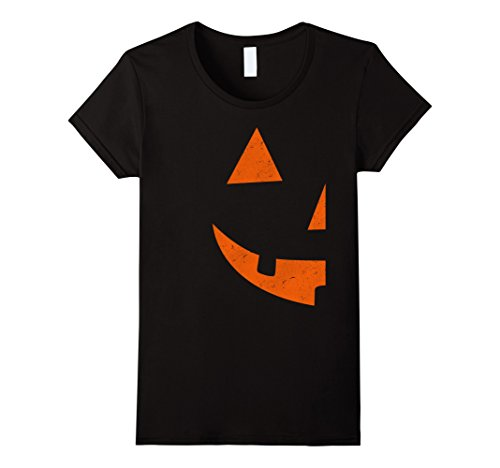 Womens Jack O Lantern T-shirt Jackolantern Couple Halloween Costume Medium (Cute Couple Costumes For Halloween)