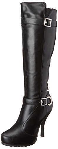Ellie-Shoes-Womens-423-Anarchy-Motorcycle-Boot