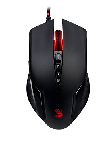 Bloody V5M X'Glide Multi-Core Gaming Mouse/Metal X'Glide Armor ()