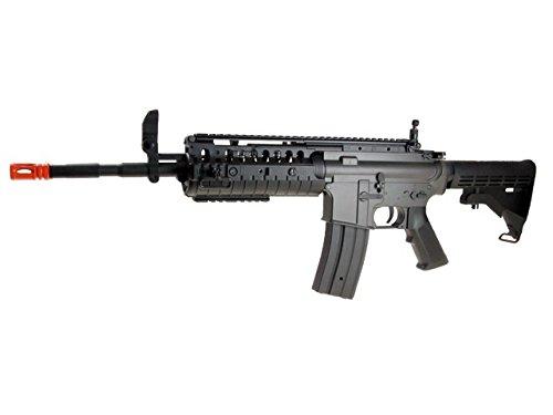 jg m4 s-system metal airsoft electric gun fb6613(Airsoft (M4 Cqb Retractable Stock)