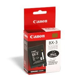 Canon BX-3 Black Ink FAX Cartridge 0884A003AA (Bx Ink Canon Black 3)