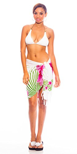 Floral Sarong Swimsuit - 4