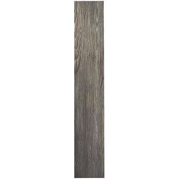 Achim Home Furnishings VFP2.0SS10 3-Foot by 6-Inch Tivoli II Vinyl Floor Planks, Spruce Silver, 10-Pack
