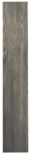 Achim Home Furnishings VFP2.0SS10 3-Foot by 6-Inch Tivoli II Vinyl Floor Planks, Spruce Silver, 10-Pack ()