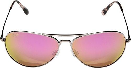 2f46b38391b Maui Jim Unisex Mavericks Rose Gold Maui Sunrise (Pink) - Import It All