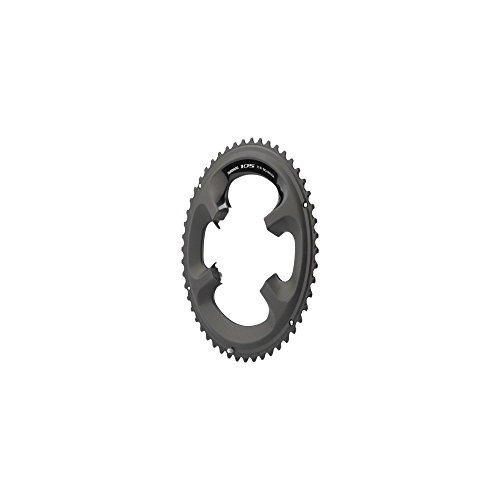Shimano 105 5800-L 50T 130mm BCD 11-Speed Road Bike Chainring For 50/34t Black ()