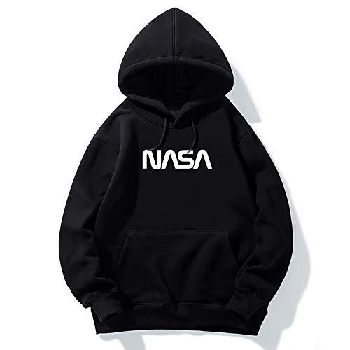 Con s Mens purple Black Donna Manica Ispessimento Mars Velluto Plus Moda Astronauta Giacca Rescue Lunga Nasa Cappuccio Coat Spaceman Logo UxwvZq1