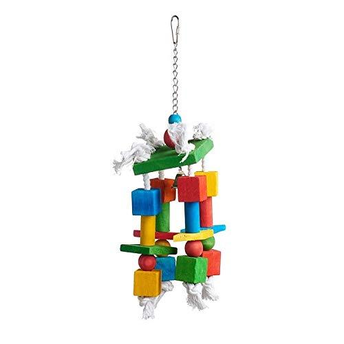 Prevue Pet Products 60955 Bodacious Bites Crazy Legs Bird Toy, Multicolor
