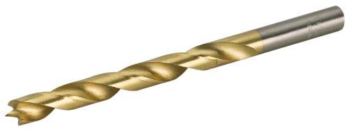 Steelex Plus D2317 19/64-Inch TiN Coated Brad Point Bit