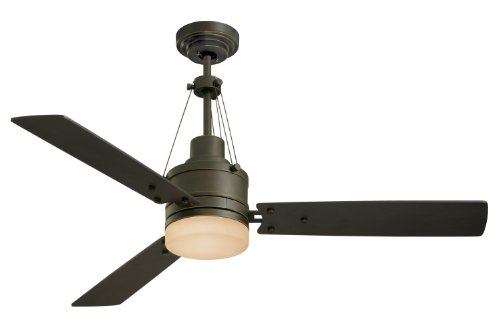Emerson CF205GES Ceiling Fan with Light and Remote, 54-Inch Blades, Golden Espresso