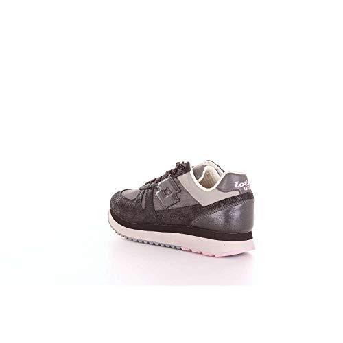 W E Glitter T4628 Nero Sneakers Grigio Tokyo Laminato Wedge Lotto 1CaqO1