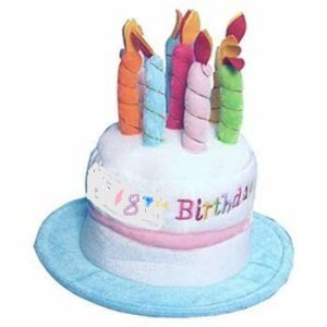 18th Birthday Cake Hat Amazoncouk Toys Games