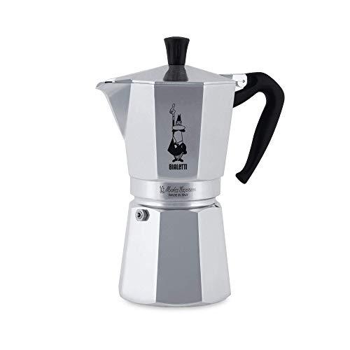 Village Coffee Pot - Bialetti 1166 Moka Express Export Espresso Maker, Silver