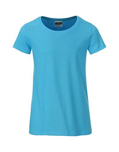 Casual Classic Girl Girl Fit 2store24 Camiseta Organic Turquoise qwzIx1W8F